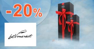 Zľavy až -20% na darčekové kazety na BevMarket.sk