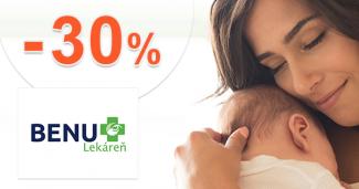 Zľavy až -30% na bioprodukty na BenuLekaren.sk