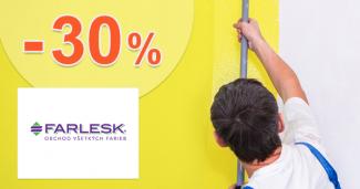 Zľavy až -30% na Farlesk.sk