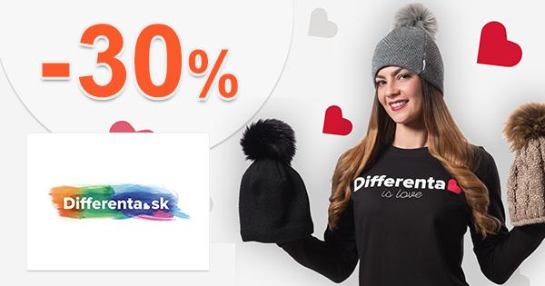 Zľavy až -30% na najlepšie kúsky na Differenta.sk