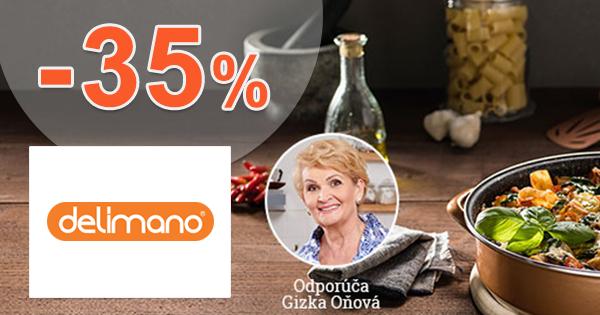Zľavy až -35% na kuchynské náradie na Delimano.sk