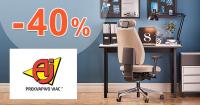 Zľavy až -40% na AJProdukty.sk