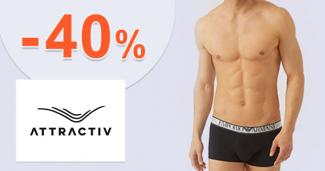 Zľavy až -40% na Attractiv.sk