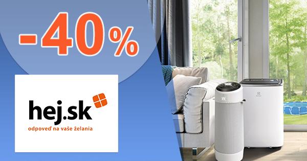 Zľavy až -40% na mobilné klimatizácie na Hej.sk