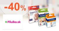Zľavy až -40% na náplaste Cosmos na Pilulka.sk
