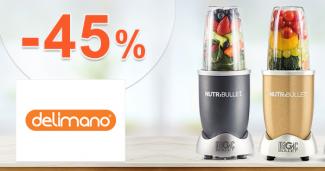 Zľavy až -45% na NutriBullet na Delimano.sk