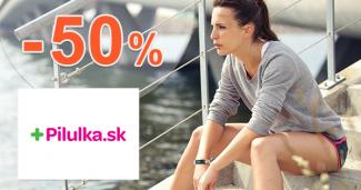 Zľavy až -50% na športtestery na Pilulka.sk