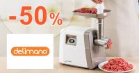 Zľavy až -50% na kuchynské spotrebiče na Delimano.sk