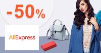 Zľavy až -50% na módne doplnky na AliExpress.com