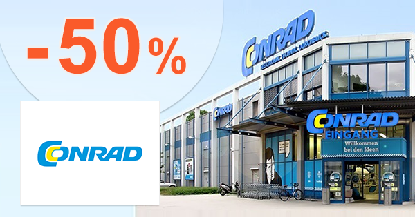 Zľavy až -50% na náradie na Conrad.sk