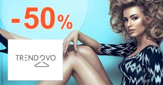Zľavy až -50% na novinky na Trendovo.sk