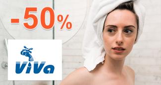 Zľavy až -50% na tovar pre toalety na VivaEshop.sk