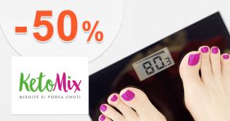 Zľavy až -50% na výhodné balíčky na KetoMix.sk