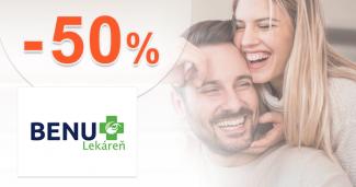 Telová kozmetika až -50% zľavy na BenuLekaren.sk