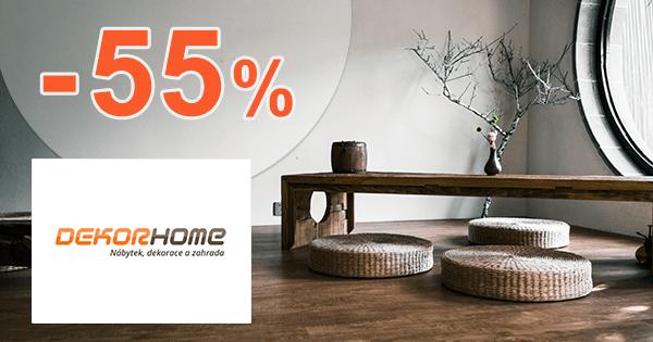 Zľavy až -55% na novinky na DekorHome.sk
