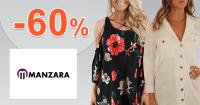 Zľavy až -60% na šaty a overaly na Manzara.sk