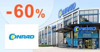 Zľavy až -60% na Conrad.sk + doprava ZDARMA