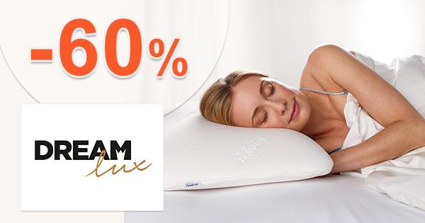 Zľavy až -60% na Dreamlux.sk