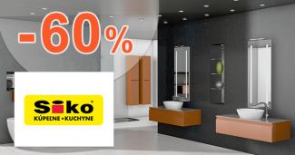 Zľavy až -60% na SIKO.sk