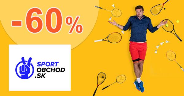 Zľavy až -60% na darčeky pre športovcov na SportObchod.sk