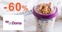 Zľavy až -60% na deDoma.sk, kupón, akcia, zľava