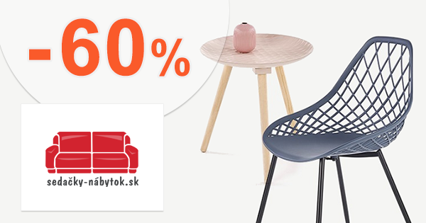 Výpredaj nábytku až -60% na Sedacky-Nabytok.sk