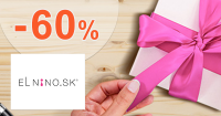 Zľavy až -60% na tovar pre deti na Parfemy-ELNINO.sk