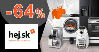 Zľavy až -64% na domáce spotrebiče na Hej.sk