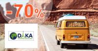 Zľavy až -70% na CestovnaKancelariaDAKA.sk