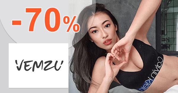 Zľavy až -70% na posledné kúsky na Vemzu.sk