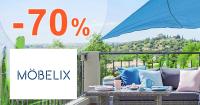 Zľavy až -70% na vybraný nábytok na Moebelix.sk