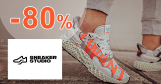 Zľavy až -80% na obuv a módu na SneakerStudio.sk