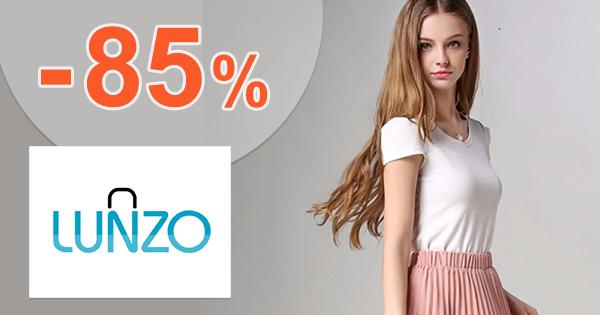 Zľavy až -85% na Lunzo.sk