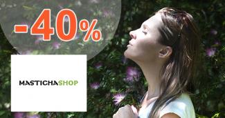 Zľavy a akcie až -40% na MastichaShop.sk