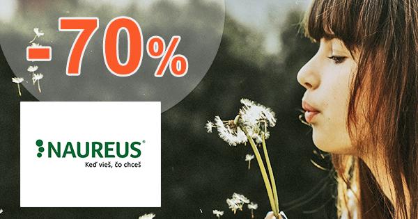 Zľavy a akcie až -70% na Naureus.sk
