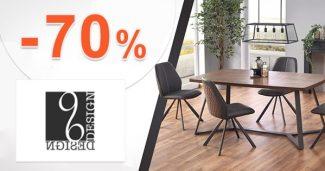 Zľavy a akcie na nábytok až do -70% na 96design.sk