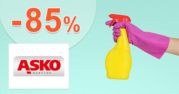 Zľavy na čistiace prostriedky až -85% na asko-nabytok.sk