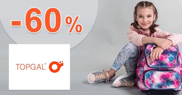 Školské tašky a batohy až -60% zľavy na Topgal.sk