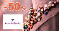 Zľavy na šperky až -50% na AutorskeSperky.com