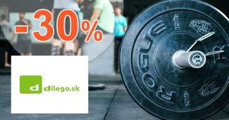 Zľavy na šport až -30% na Dilego.sk