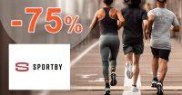 Zľavy na športové vybavenie až -75% na Sportby.sk