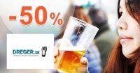 Zľavy na alkohol testery až do -50% na Dreger.sk