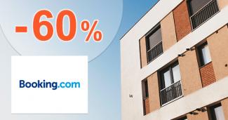 Zľavy na apartmány až -60% na Booking.com