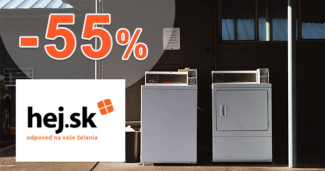 Automatické práčky so sušičkou až -55% na Hej.sk