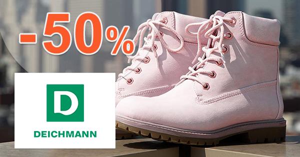 Zľavy na dámsku obuv až -50% na Deichmann.sk