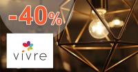 Zľavy na dekorácie až -40% na VivreHome.sk
