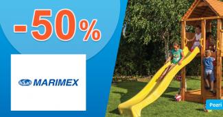 Zľavy na detské hracie zostavy až -50% na Marimex.sk