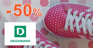 Zľavy na detskú obuv až -50% na Deichmann.sk