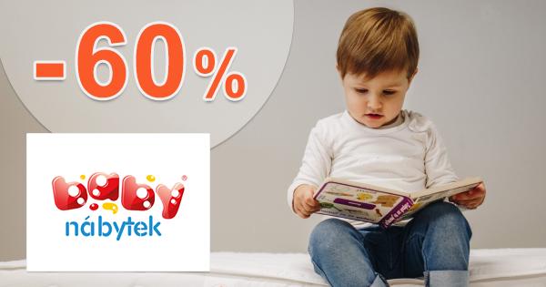 Zľavy na detský nábytok až -60% na BabyNabytek.sk