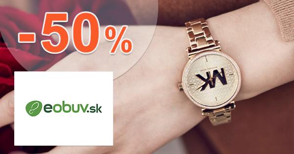 Zľavy na hodinky až -50% na eObuv.sk